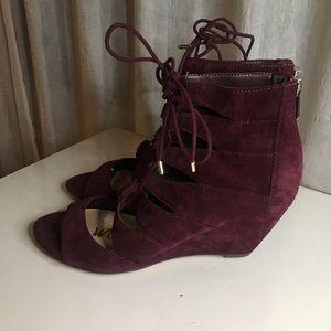 sam edelman suade sandal heel